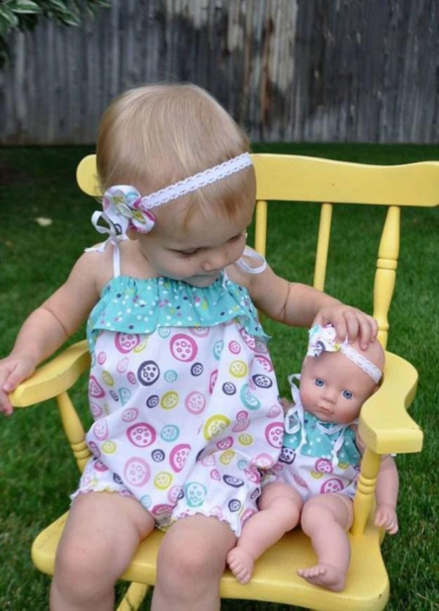 детки с куклами