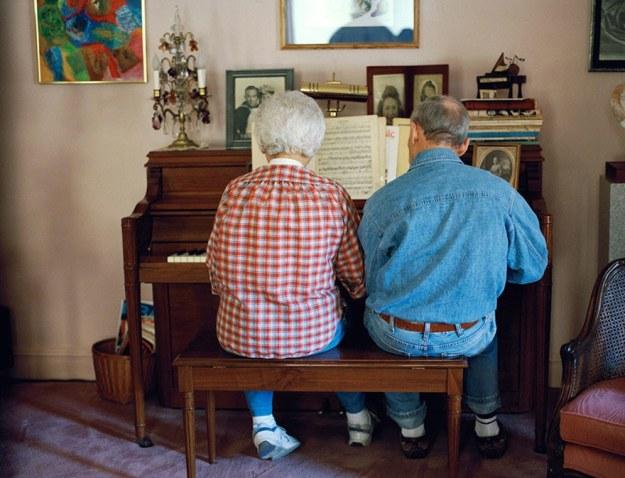 влюбленные старики
