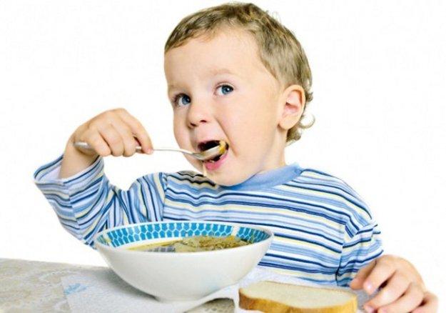 5 рецептов детских супчиков
