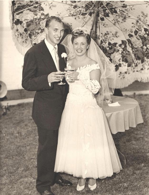 Фотография Линн и Сэнди Делл на 60-ю годовщину совместной жизни2