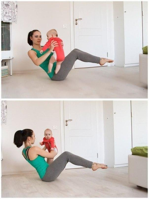 физкультура для мам