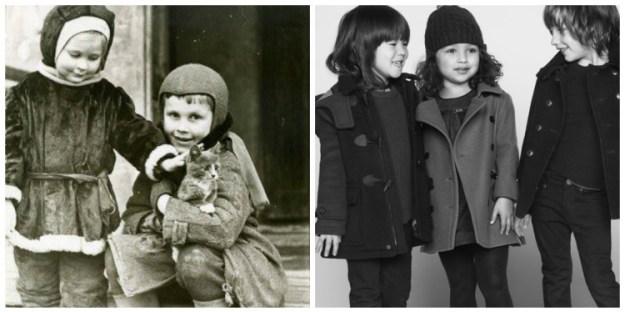 как менялась детская одежда