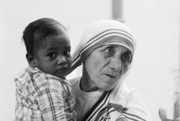 законы воспитания от Матери Терезы