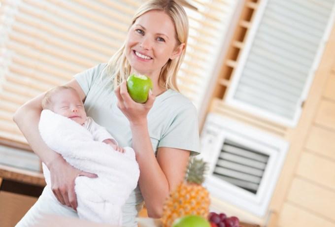 что можно есть кормящим мамам