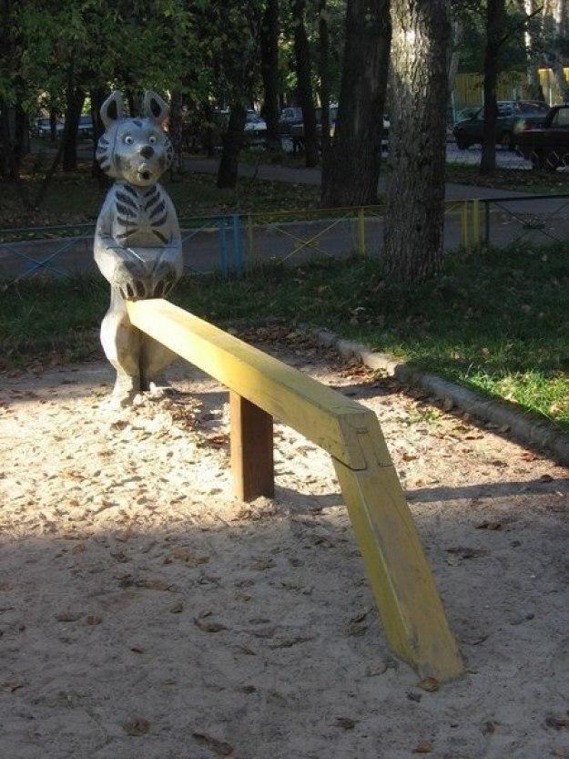 детские площадки мира