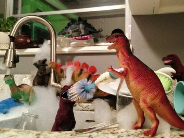 динозаврики живут