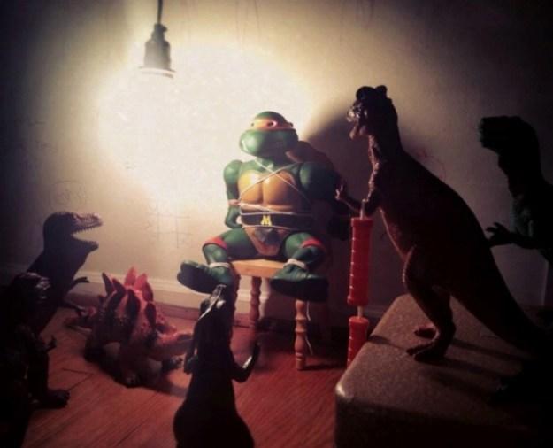 динозавры оживают ночью