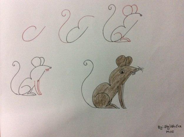 рисуем буквами
