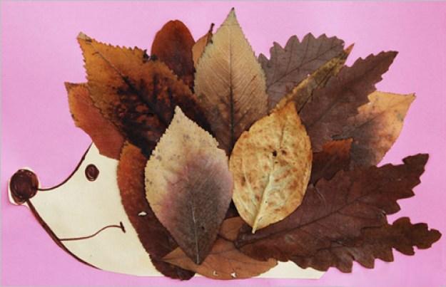 поделки осень
