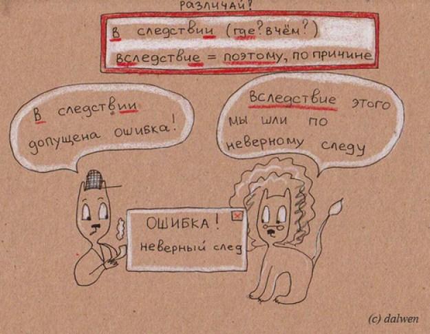 правила написания некоторых слов