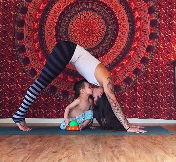 спортивная мама