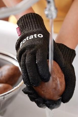 Перчатки для мытья картошки