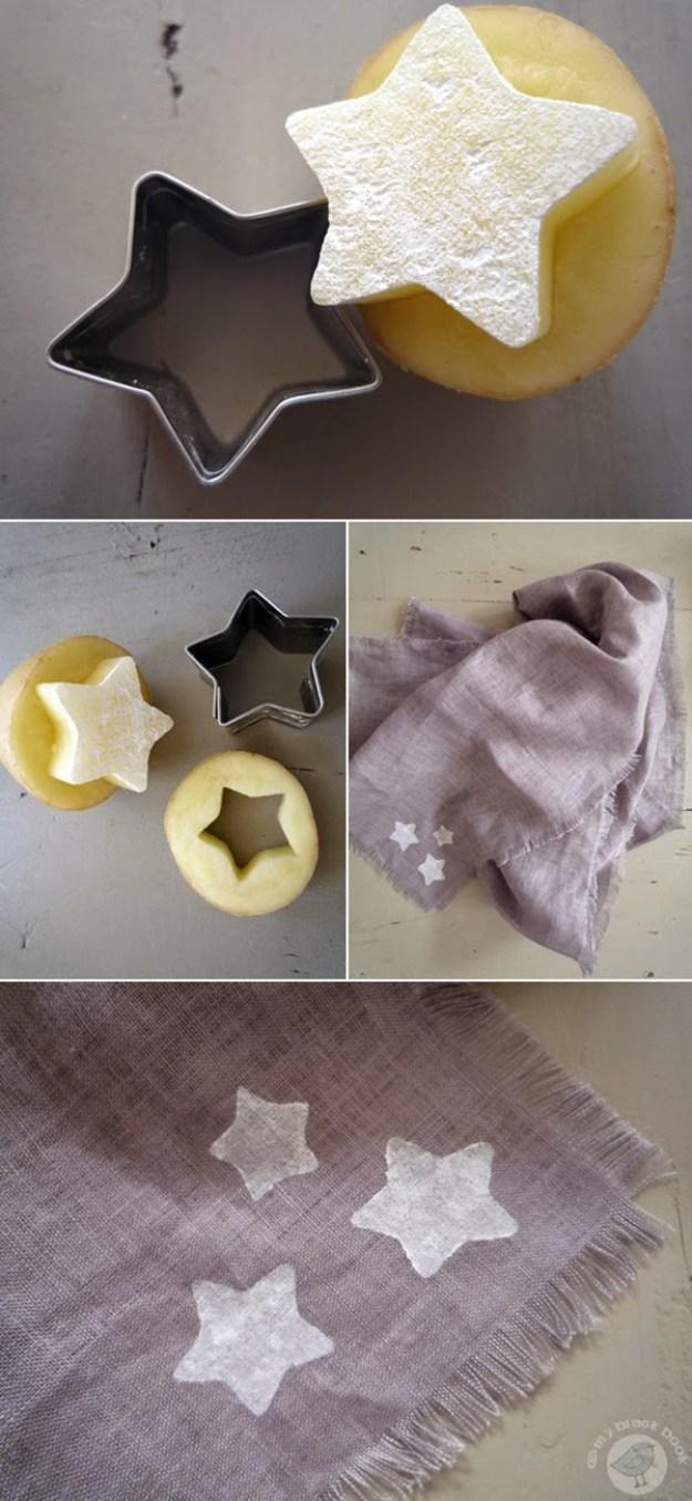 картофель штамп