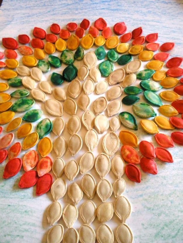 семечковая мозаика