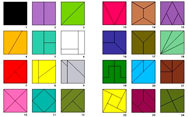 сложи квадрат Никитиных