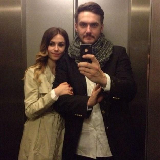 Андрей Аверин и Виктория