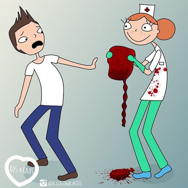 Когда медсестра показывает супругу плаценту