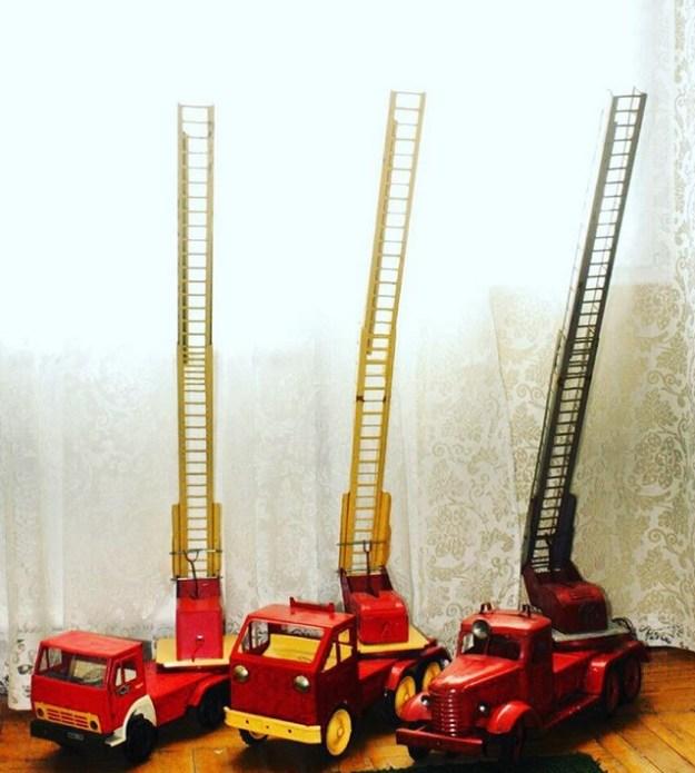Пожарные машины и Камаз