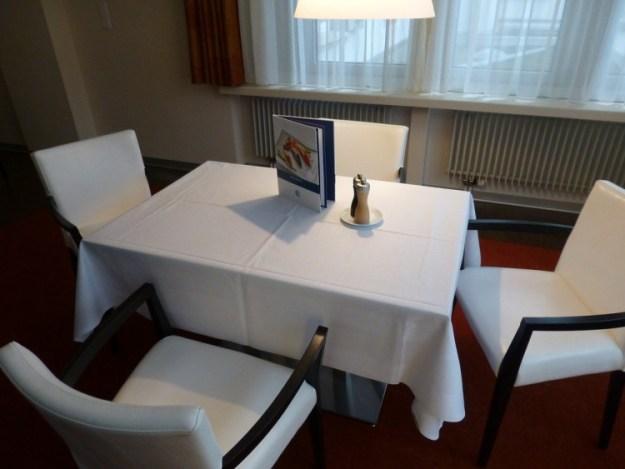 В номере можно поесть, заказав полезную пищу из меню