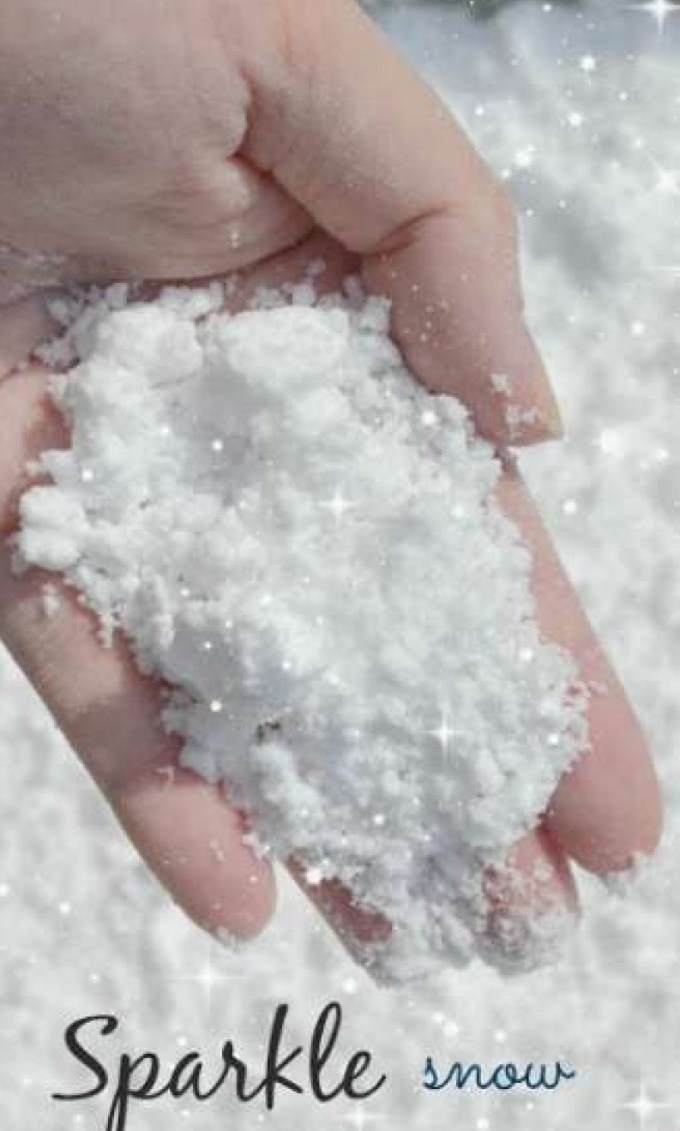 сияющий снег