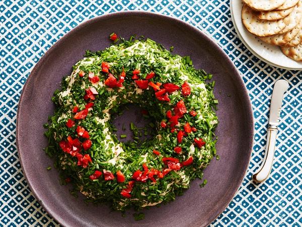 FNK Development; Holiday Cheeseball Wreath