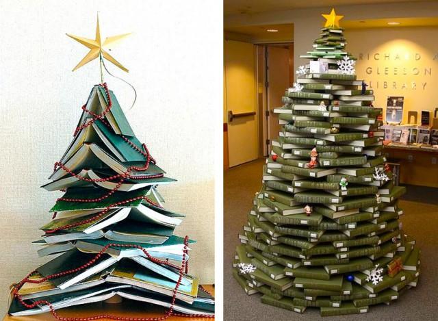 елка из книжек