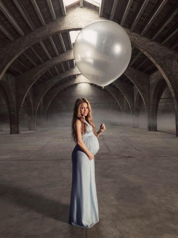 Шакире в январе посчастливилось стать мамой во второй раз - у нее у Жерара Пике родился сын Саша
