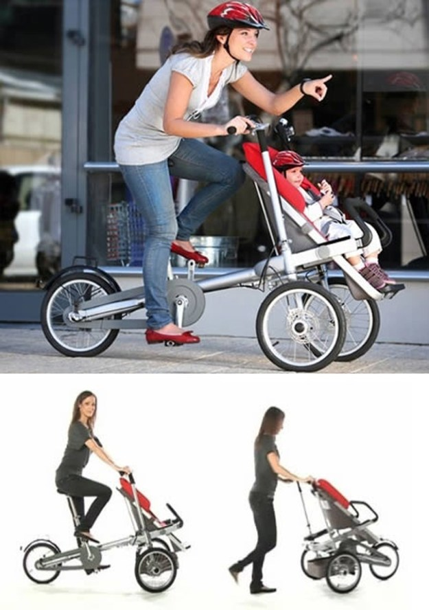 Велосипд-коляска