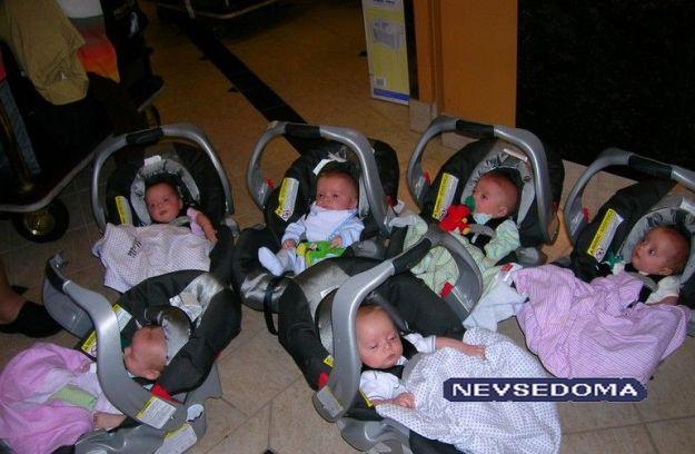 Когда много детей, родителям приходится скупаться оптом