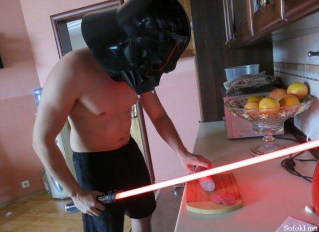 Сила джедая поможет на кухне