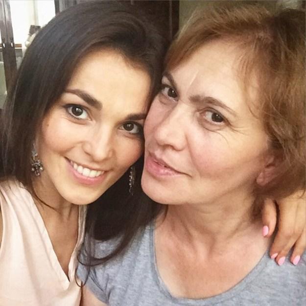 Волшебная Сати Казанова и мама Фатима