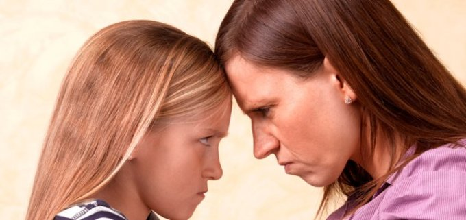 конфликт с ребенком