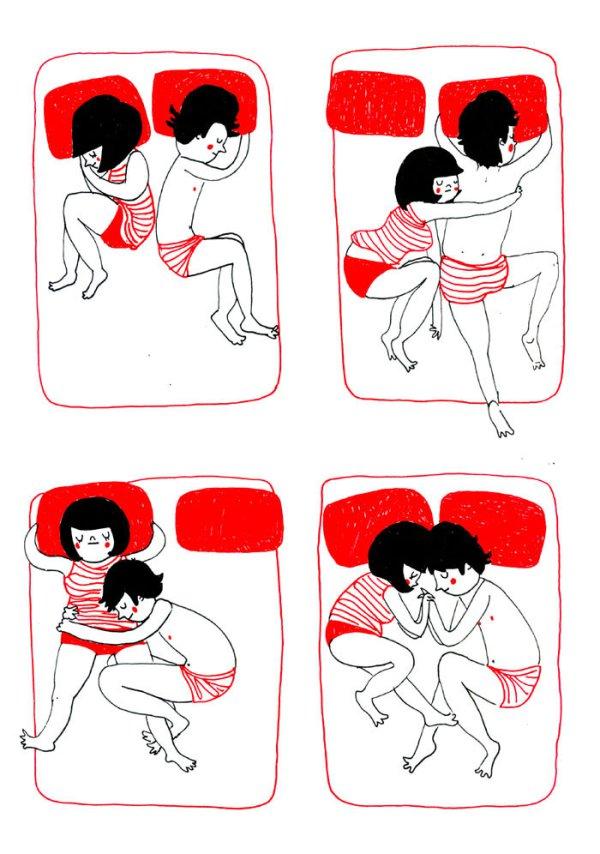 ...обниматься во сне