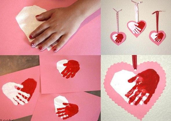 сердце с руками