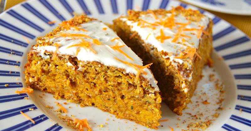 как приготовить морковный торт в духовке с фото