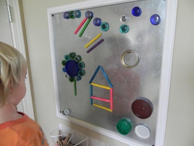 делаем магнитную мозаику
