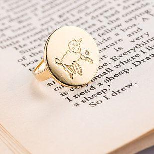 Кольцо и кулон по мотивам Маленького принца