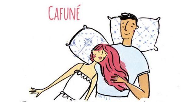 Португальское слово, которое описывает момент, когда кто-то раглаживает волосы второй половинки
