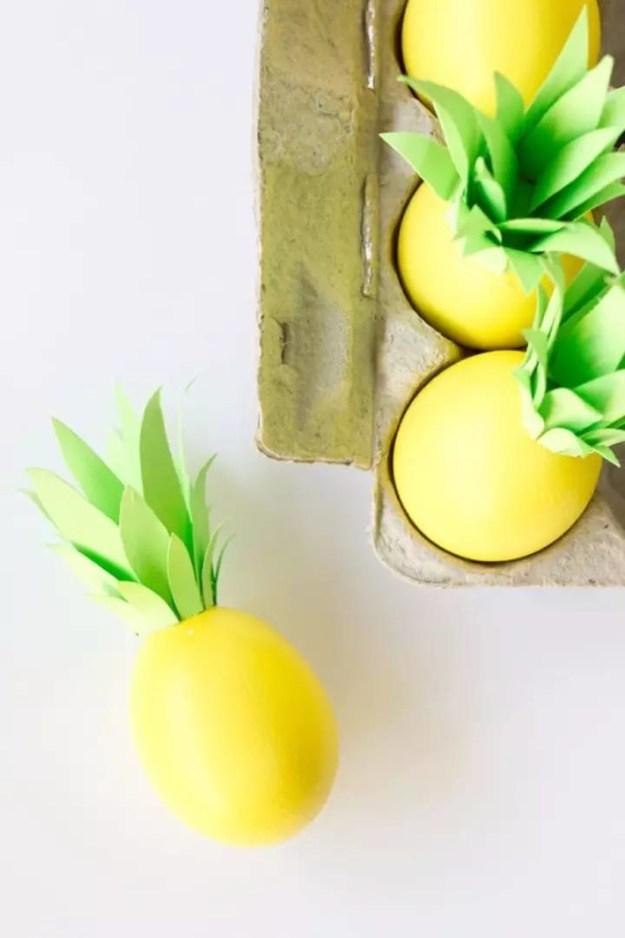 Яйца-ананасы