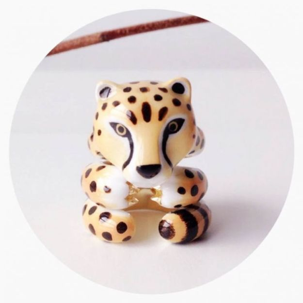 кольцо гепард