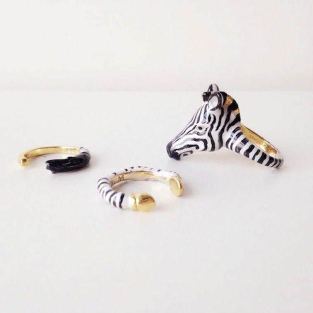 кольцо с зеброй2