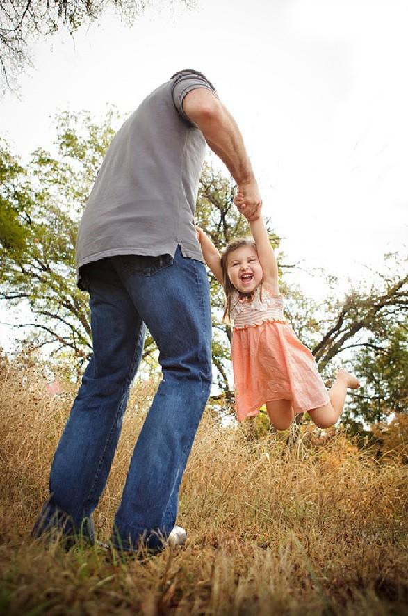 трогательные моменты папа и дочка
