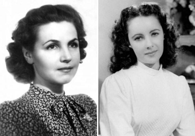 Тамара Макарова и Элизабет Тейлор