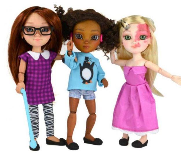 куклы с ограниченными возможностями