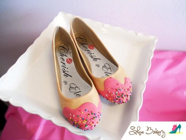 обувь в виде десертов