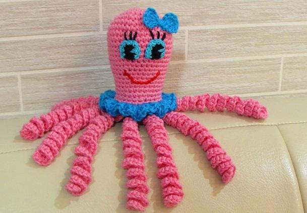 осьминожки для детей