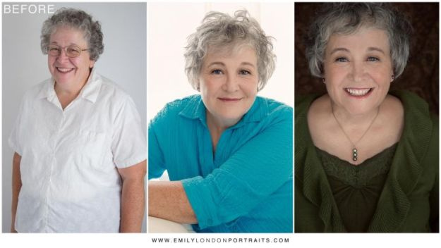женщины после макияжа