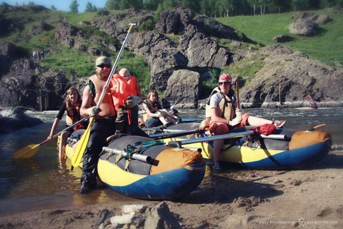 спортивный спла по уральской реке