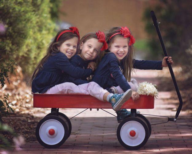 фотографии для тройняшек