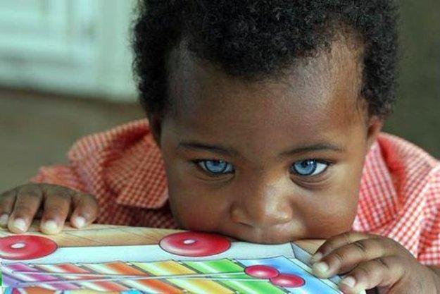 темнокожие дети
